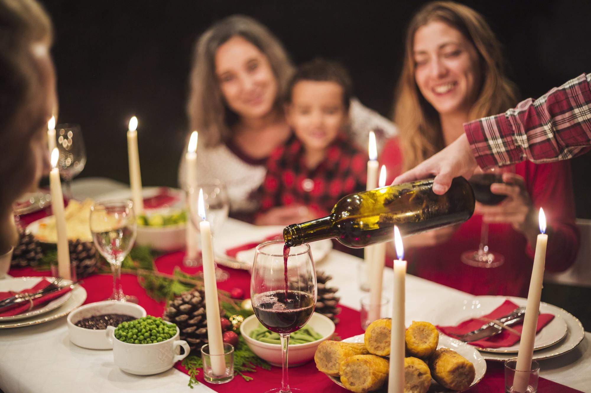 Cómo evitar la acidez en Navidad