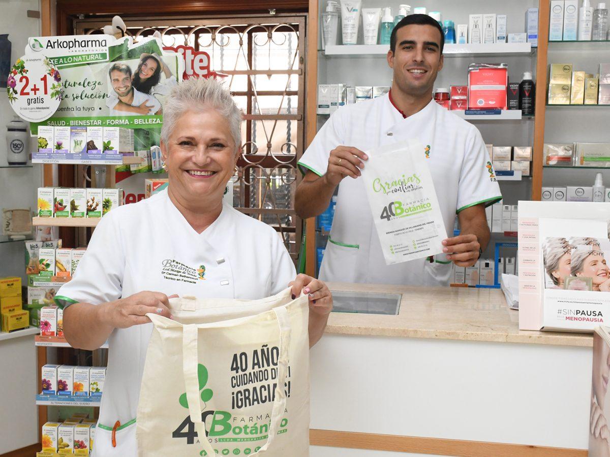 Farmacia Botánico apuesta por el cuidado del medio ambiente