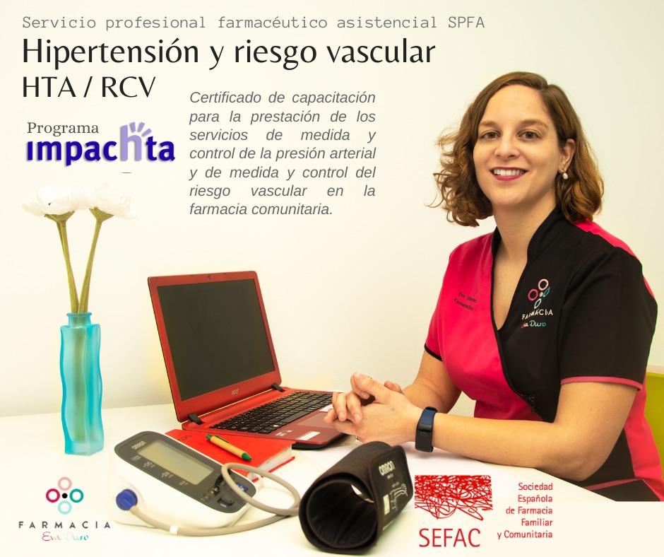 HIPERTENSIÓN Y RIESGO VASCULAR HTA/RCV