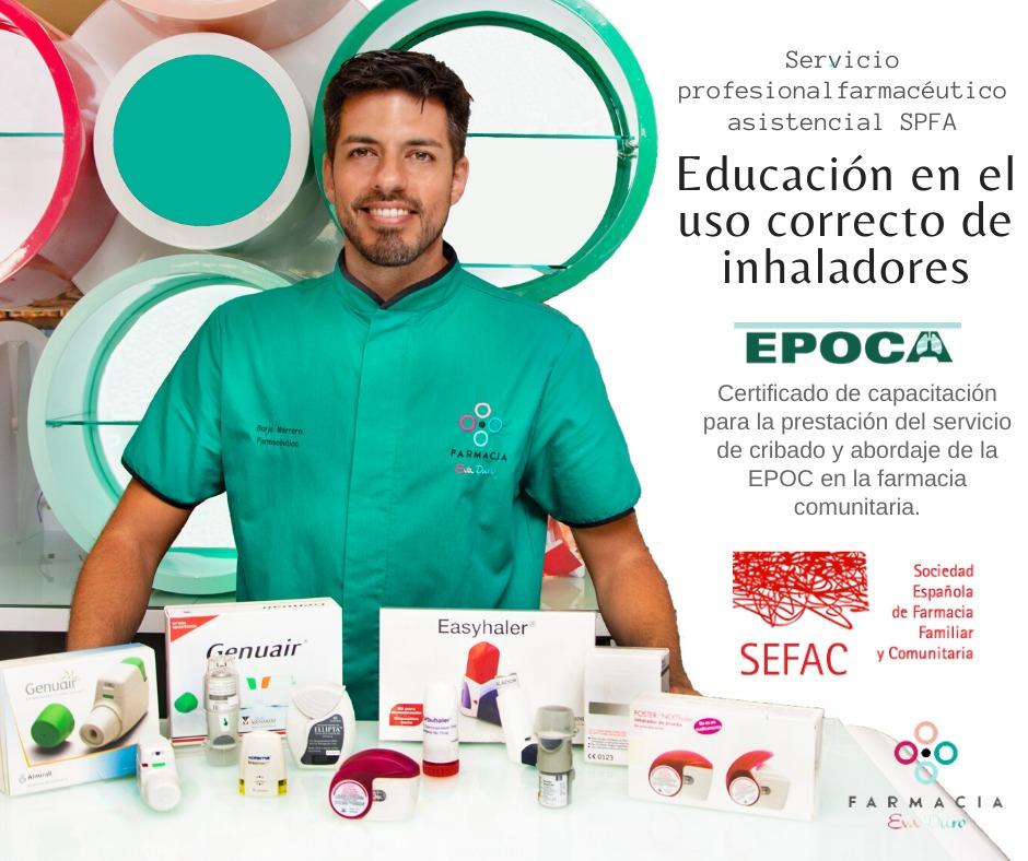 EDUCACIÓN EN EL CORRECTO USO DE INHALADORES